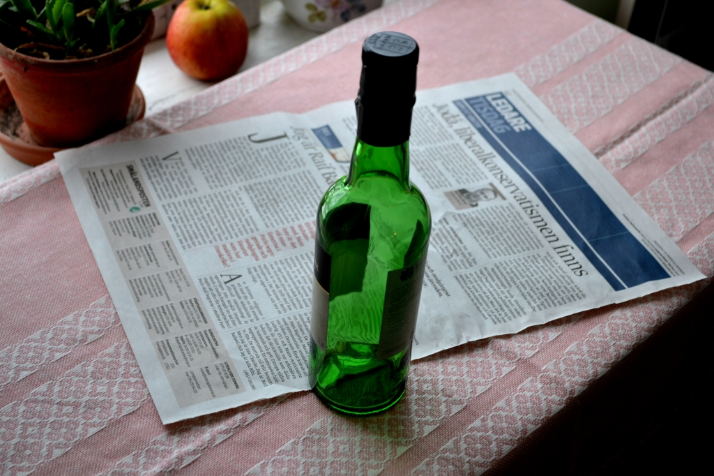 Krukor av tidningspapper, Paper seedling pots