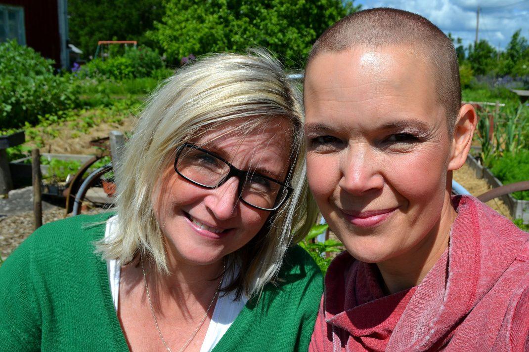 Maria Fors Östberg och Sara Bäckmo