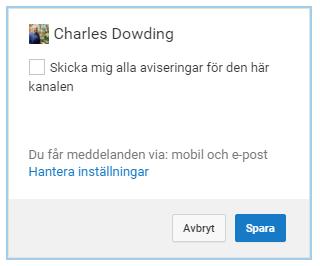 Skärmdump från YouTube