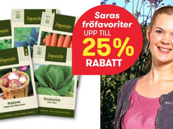 Fröerbjudande Sara Bäckmo