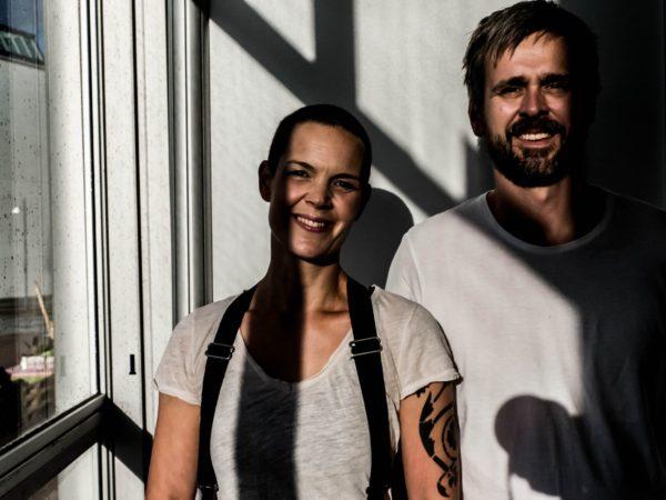 Sara Bäckmo och Johannes Wätterbäck.