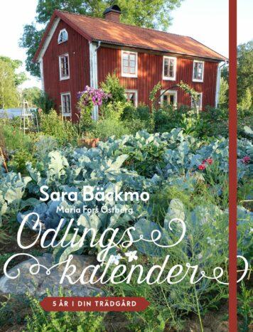 Bokomslag med ett stort rött hus och en välfylld köksträdgård framför.