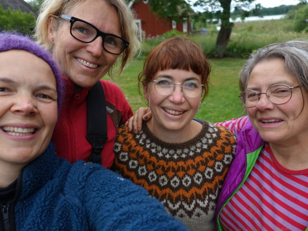 Sara Bäckmo, Eva Haraldsson, Friederike Hector, Katinka Schartau.