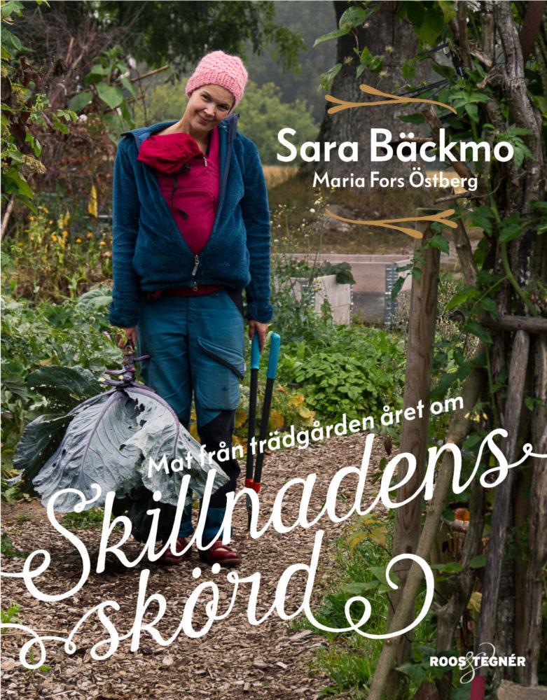 Ett bokomslag med Sara i arbetskläder