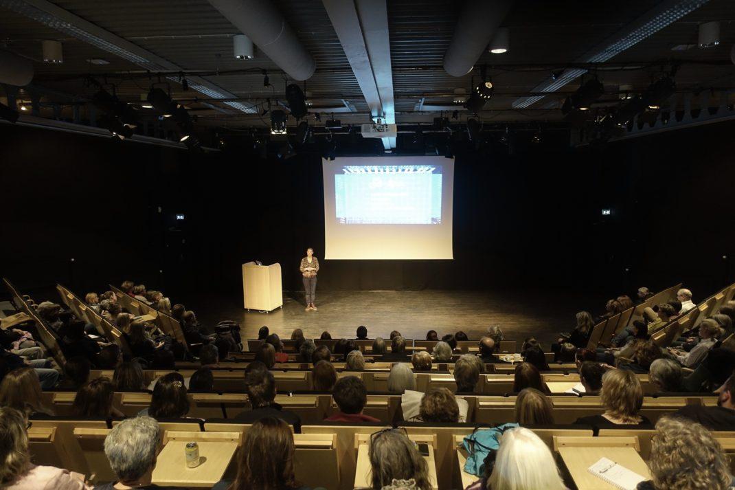 Bild från ett föredrag