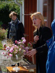 Workshop i blomsterarrangemang.