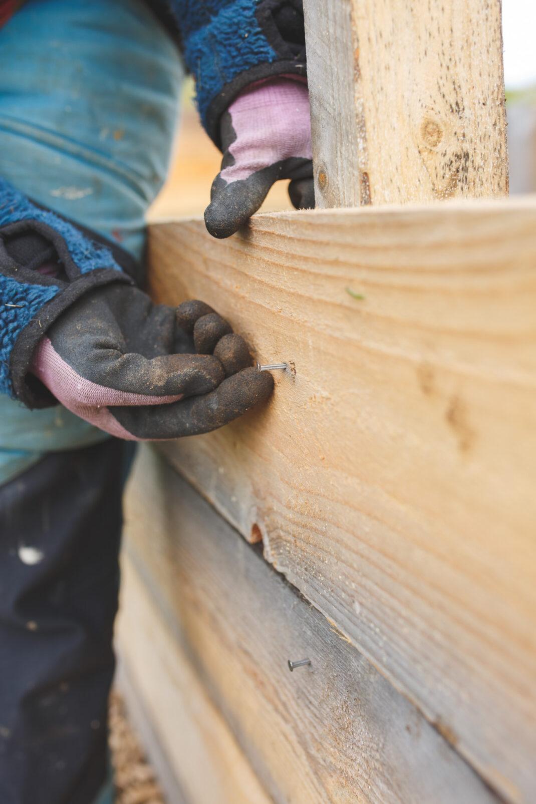 Bygga egen kompost i trä