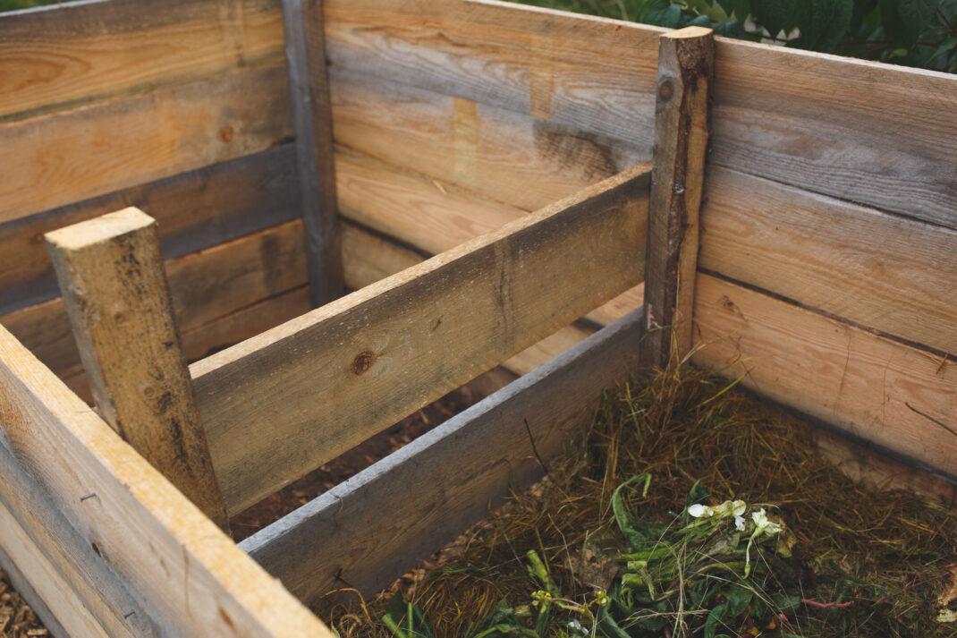 Göra egen kompost i trä