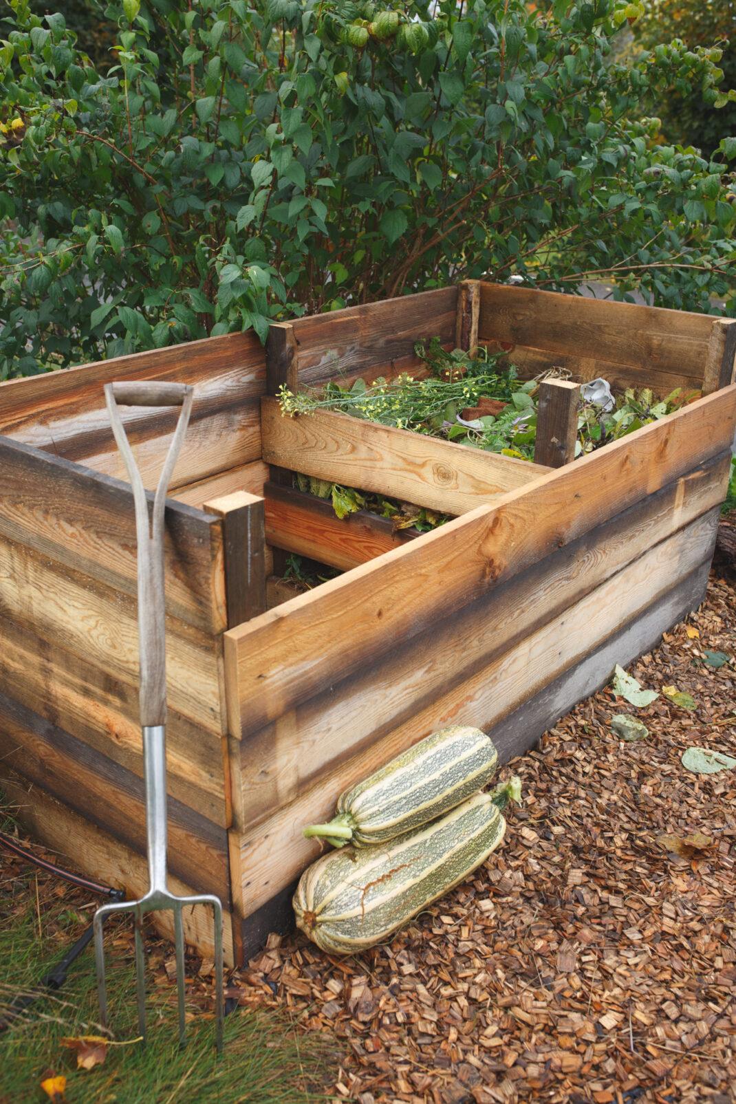 Bygga egen kompost